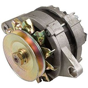 Alternator With Fan And Pulley