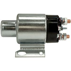12 Volt Starter Solenoid for Allis Chalmers, Case, International/Farmall, Oliver Tractors and More with Delco Starters