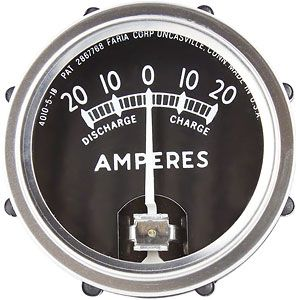 Ammeter Gauge - 20-0-20