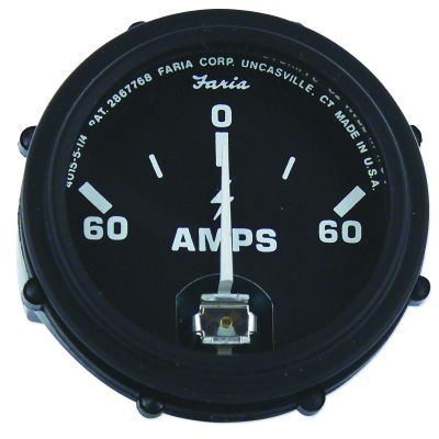 Ammeter Gauge (60-0-60) for Ford (1939-1964) Models 8N, NAA, 600 and More
