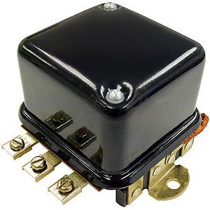 6 Volt External Voltage Regulator for Allis Chalmers D Series, Case, John Deere 420 and More