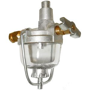 Fuel Strainer Assembly for Allis Chalmers, Case, International/Farmall, John Deere Tractor Models and More
