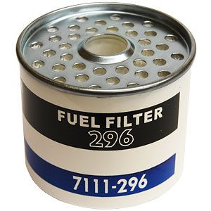 Fuel Filter Element with Seals for Tractors with CAV / Simms Fuel Assemblies