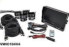 "VisionWorks 10"" Standard Camera System with 4 Cameras"