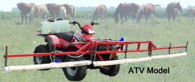 15 Foot Weed Wiper Mount for ATV